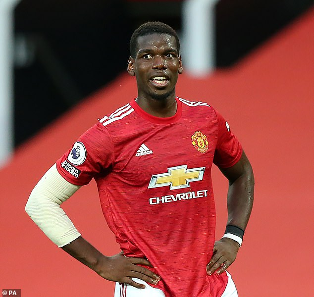 Pogba is a regular for France but has started just one of United's last four league games
