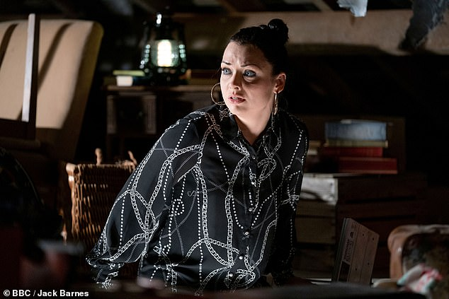 Warning:But with Kush safe for now, it remains to be seen whether the police will eventually catch up with him as Whitney (Shona McGarty) warns Kush's girlfriend Kat Slater that they can't keep him there forever