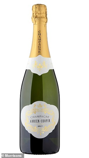 Shoppers need not break the bank for the best bottle of Christmas fizz this year as Morrisons own brand Champagne has beaten its famous French rivals in a blind taste test. The £18 bottle of Morrisons' Adrien Chopin Brut Champagne topped the expert lead panel assembled by Which? proving that you can get your hands on a top-class festive fizz for less than £20.