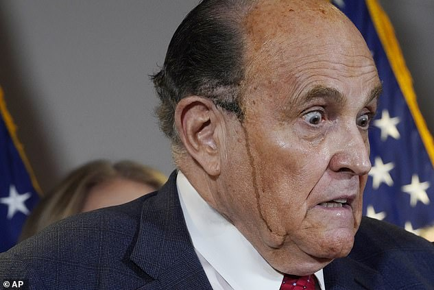 Rudy Giuliani, Trump's lawyer, held a press conference on Thursday where he claimed evidence of voter fraud but refused to provide proof