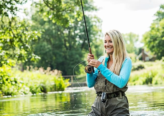 Fly-fishing pin-up Marina Gibson has branded Radio 4's use of the term 'fisher-people,' earlier this week as 'ridiculous'