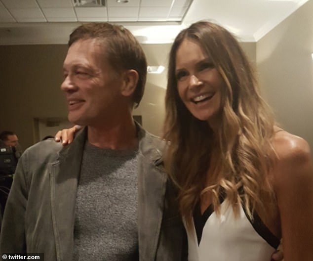 Campaign: Former doctor Andrew Wakefield and Miss Macpherson.Wakefield has dismissed the coronavirus as what he calls 'WuFlu', after the city of Wuhan in China, where the pandemic began