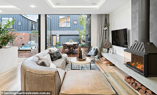 Regrets: In the past, Hughesy admitted he regretted buying the home after finding out it wasn't worth the price tag