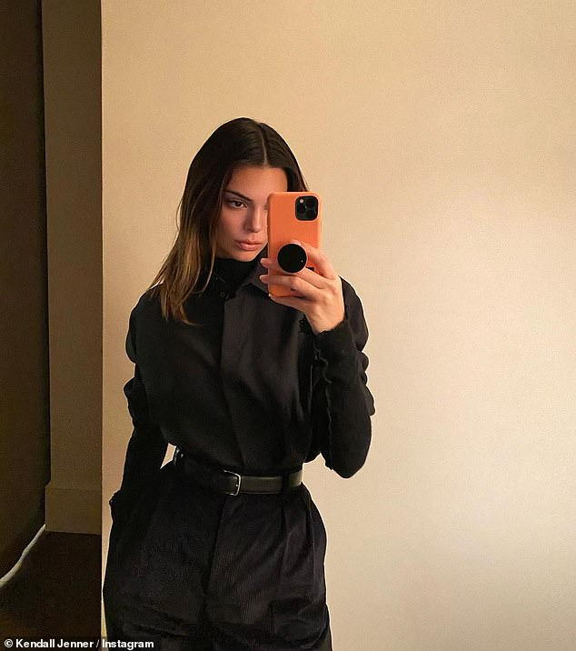 Represent:'The Row head to toe,' captioned Kendall, who boasts 142 million followers on the platform