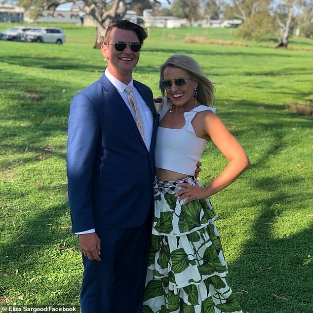 The couple are hoping to throw another party next year for their friends and family who couldn't make the 2020 event