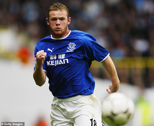 Rooney, then 18, had starred for Everton had was one of English football's hottest prospects