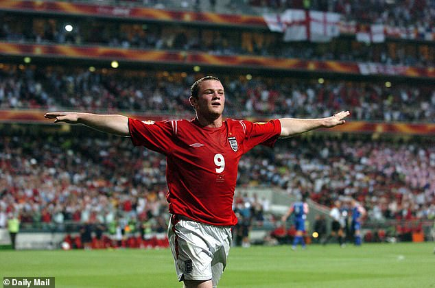 He then enhanced that growing reputation by netting four goals for England at Euro 2004