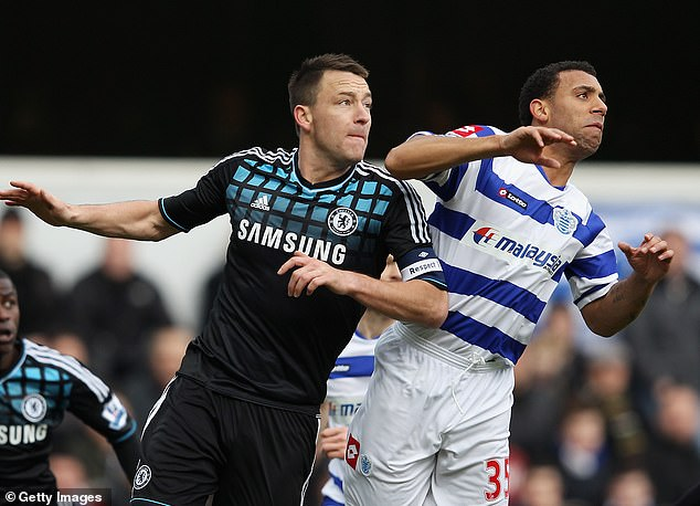 Anton Ferdinand (r) suffered horrific racist abuse after an incident involving John Terry in 2011 and he says the current generation of footballers are not receiving protection from big tech
