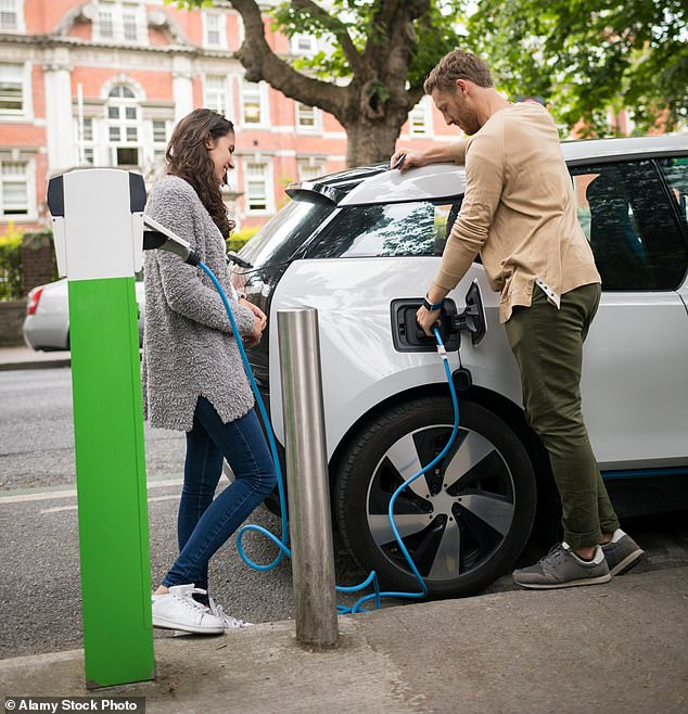 Charging ahead:Boris Johnson's 'green industrial revolution' is set to transform the way we live, work and travel