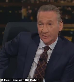 Pictured: 'Real Time' host Bill Maher