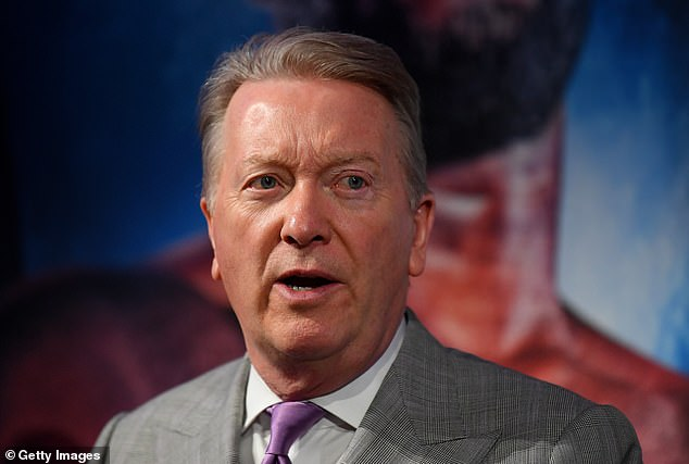 Promoter Frank Warren has labelled the match up a 'sad' spectacle between two boxing greats