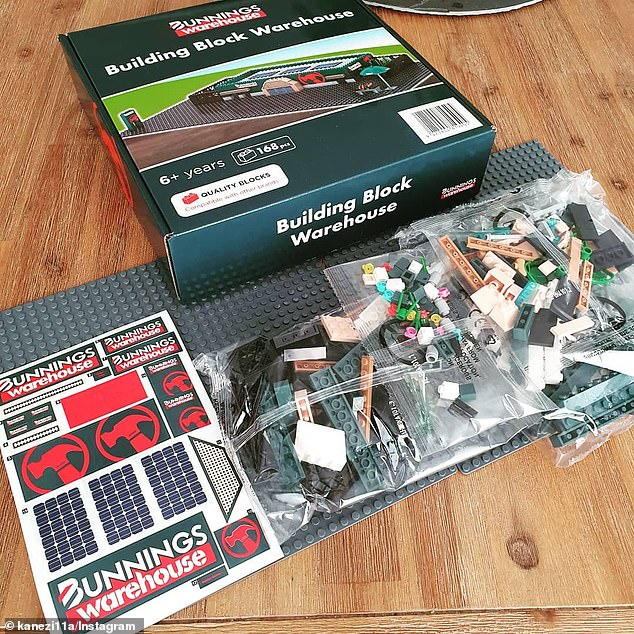 Bunnings Warehouse is set to rerelease its popular Lego-inspired miniature building block kit ahead of Christmas