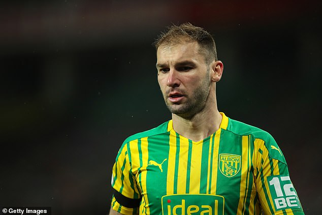 Ivanovic was one of the better performers for West Brom on a frustrating night for the Baggies