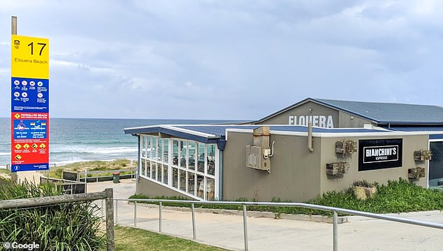 A man has been charged after allegedly punching a police officer at Elouera Surf Life Saving Club (pictured) in Cronulla