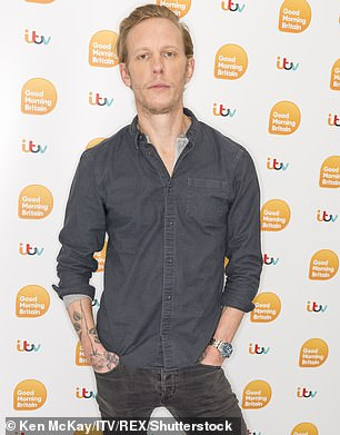 Laurence Fox, 42, took umbrage at being accused of white male privilege on TV question time