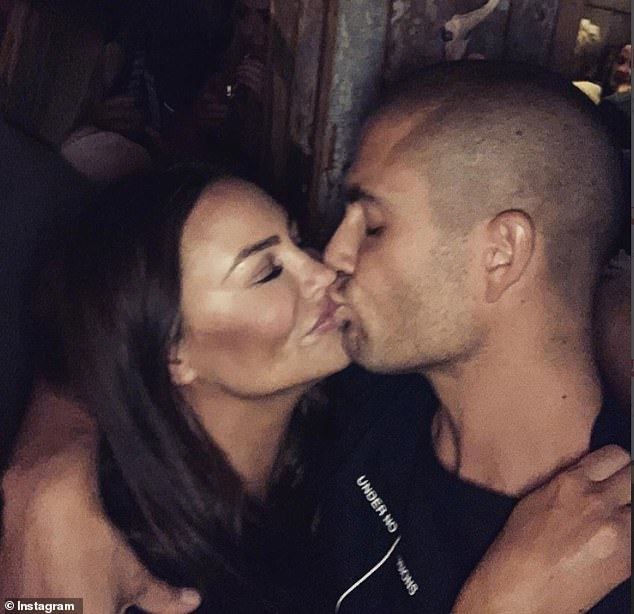 Romance:The loved-up star said that he would 'love' to be a father' but added that he is already content being a 'family' with his partner and her two children, Liberty, 17, and Zach, 13