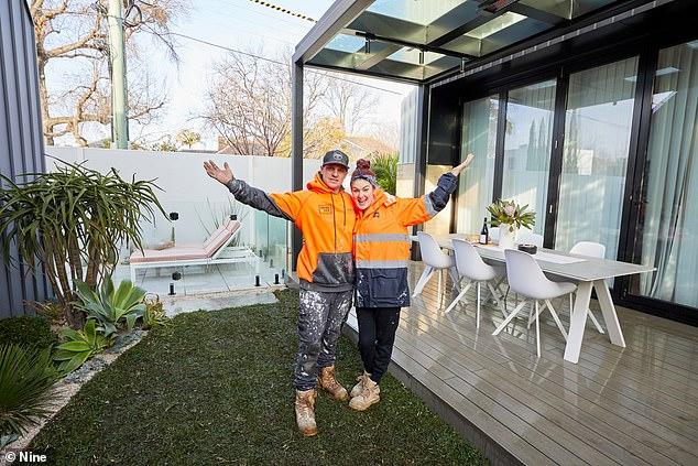 'With great power comes great responsibility': The Block boss reveals why Jimmy and Tam (pictured) could RUIN other teams' auctions with one decision