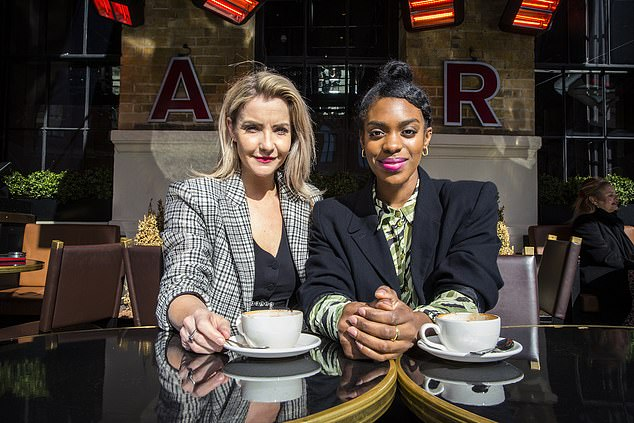 The programme, which will air on Tuesday and is presented by Helen Skelton and Sabrina Grant (pictured), also discovered other retailers are undercutting themselves and selling their own products more cheaply on Amazon