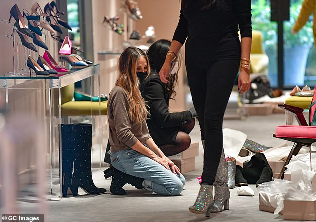 Carrie Bradshaw, shoe saleswoman:Parker has often been seen at her SJP by Sarah Jessica Parker boutique in midtown Manhattan; seen there on November 17th