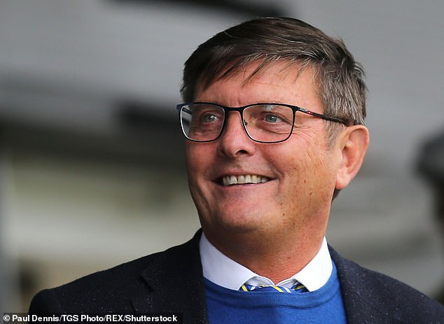 Companies House documents also show that businessman Darryl Eales (pictured) has taken a 17.5 per cent stake in Party Pieces