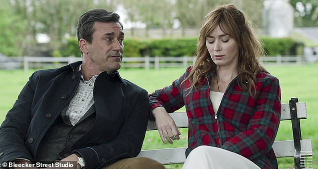 Most recently: Hamm has enjoyed a thriving acting career, with no less than six films to come: The trailer for his latest film Wild Mountain Thyme opposite Emily Blunt was recently released