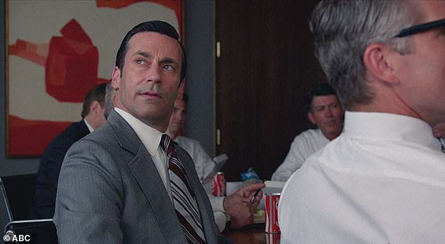 The One and Only: Hamm, of course, starred as Don Draper on the series, appearing in 92 episodes over the show's 8 years.