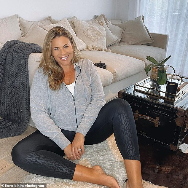 Life-changing decision: Fiona Falkiner has decided to represent herself and 'fly solo' after 15 years of having a manager or agent