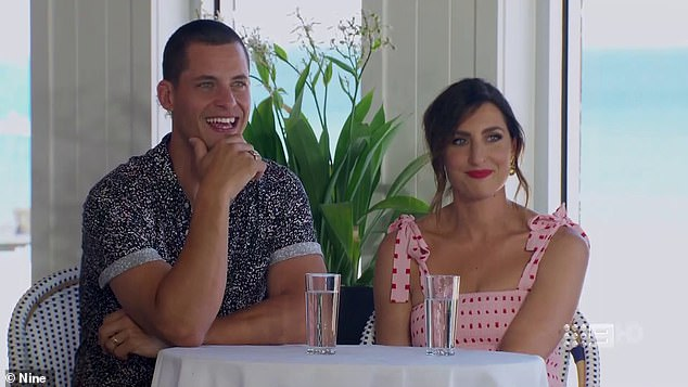 Auction order: Earlier in the episode, the pair seemed pretty happy after Jimmy and Tam chose the auction order