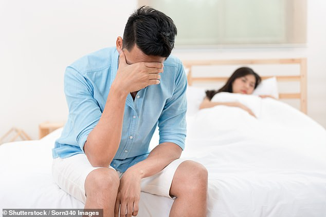A new study by City, University of London found the ideal of the male breadwinner may still be 'bigger than we give credit for'.Men who earned lessthan their wives were more likely to report life dissatisfaction (stock image)