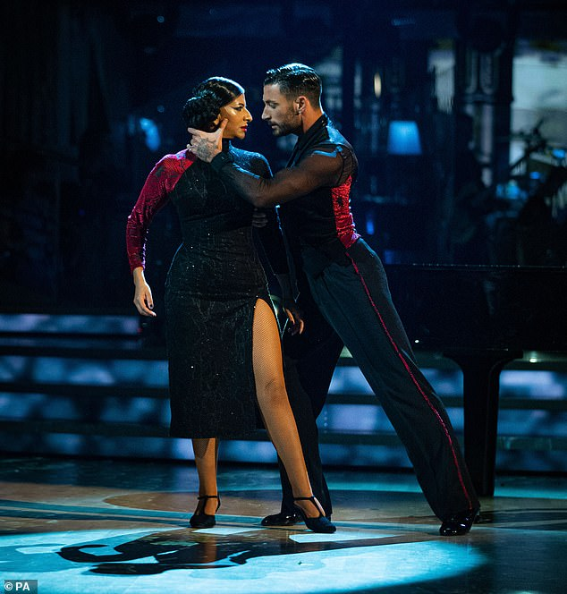 Strictly's Ranvir Singh praises 'sizzling' dance partner Giovanni Pernice