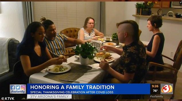 Arizona Family capturó el momento conmovedor que Dench agradeció por los años que pasó con Lonnie