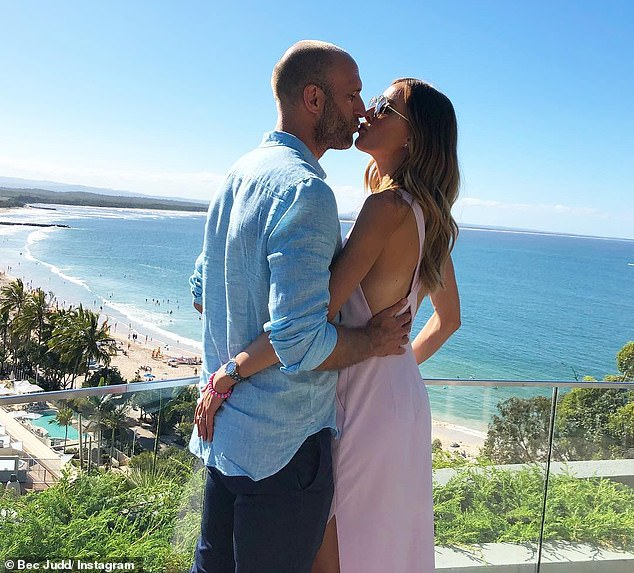 Revealed:The sighting comes just days after Rebecca shared her secret to a long and happy relationship on her 3pm Pick-Up radio show