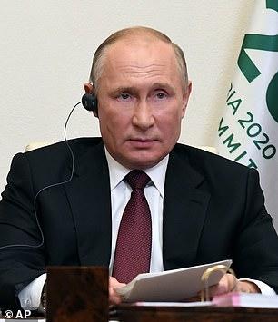 Vladimir Putin says he's not ready to recognize Joe Biden as winner of US presidential election