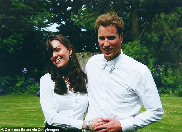 Kate caught William's eye for the very first timewhen she strutted down the catwalk, aged 20, during the Student Charity Fashion Show at the Fairmont St Andrews hotel - but both royals had already promised their hearts elsewhere