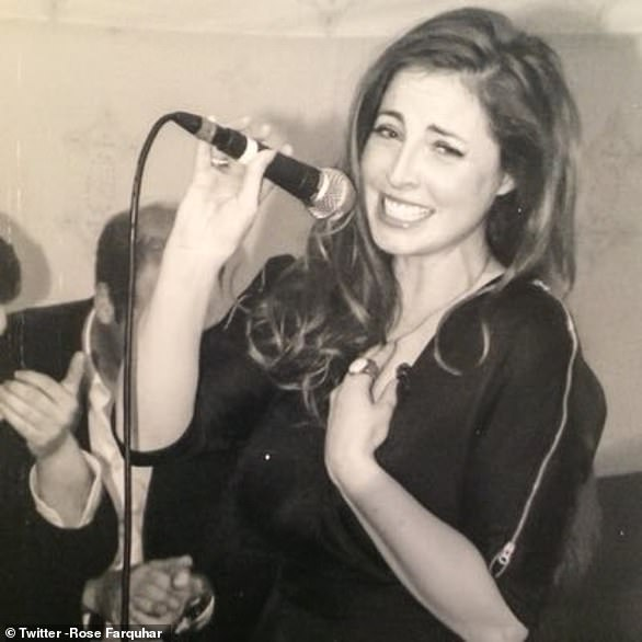 The youngest daughter of Captain Ian Farquhar, Rose, 35, a singer, briefly dated William in 2000