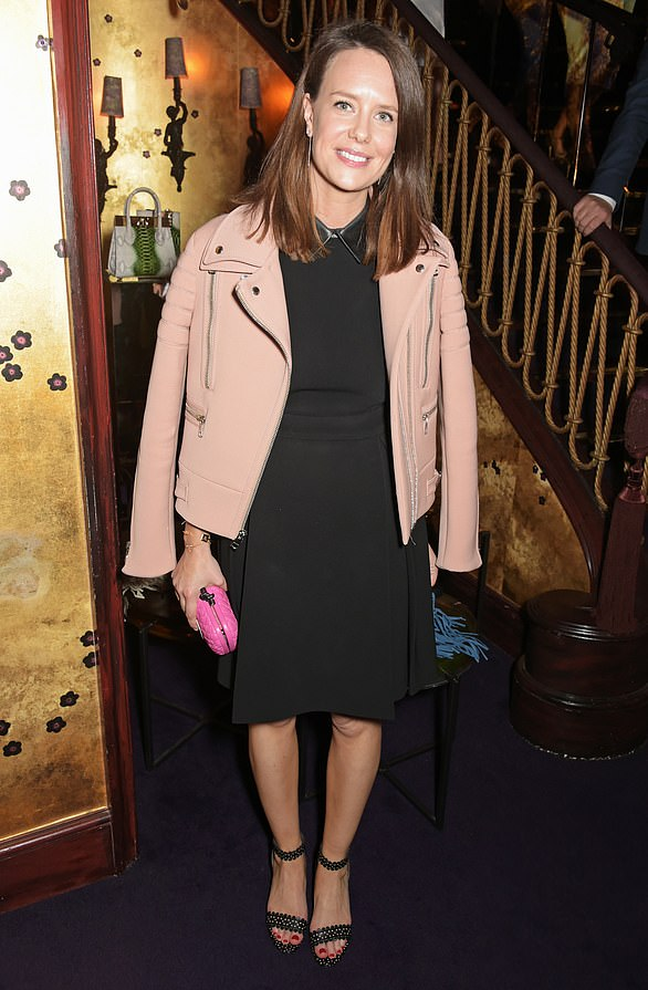 Last year it was reported she had landed the job as Gucci's head of PR. She is pictured at the Walkabout Foundation Event hosted by Dee Ocleppo And Tommy Hilfiger at Loulou's in 2015