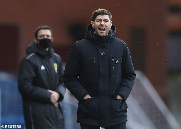 Steven Gerrard was left baffled by Alfredo Morelos' reaction to being substituted on Sunday