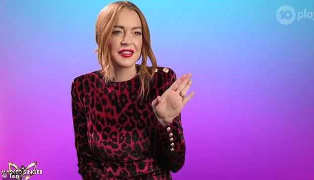 Star:Actress Lindsay Lohan, who most recently appeared on Aussie TV as a judge on The Masked Singer last year, will join 11 other celebrities in the jungle, reports New Idea