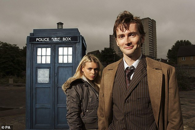 BritBox has Australia's largest streaming collection of classic and contemporary Doctor Who with all 13 doctors in one place. Pictured: David Tennant as Dr Who with assistant Rose Tyler, played by Billie Piper