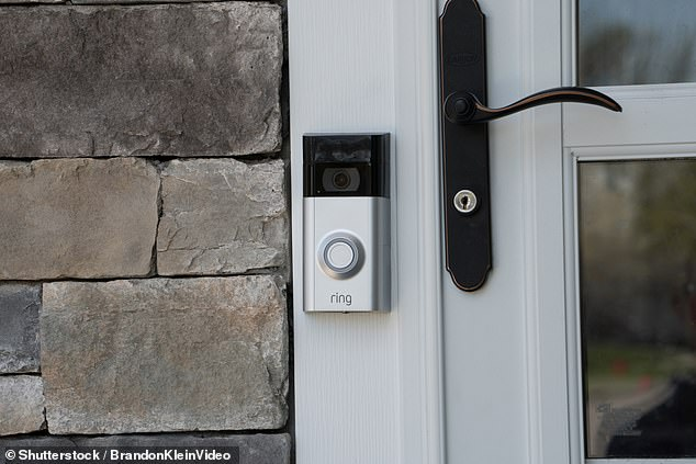 Many of the smart doorbells included in the investigation mimic market leaders such as Amazon's Ring (pictured) or Google Nest models