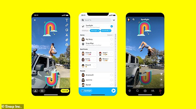 Spotlight, which launches today for UK users, is a new entertainment platform for user-generated content within the Snapchat app