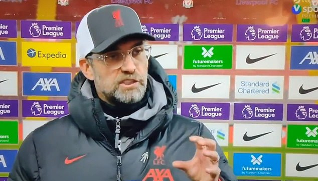 Liverpool boss Jurgen Klopp slammed broadcasters over kick-off times and schedule