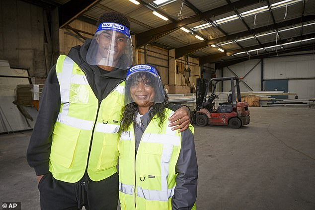Food redistribution charity FareShare is backed by England footballer and free school meals campaigner Marcus Rashford, pictured