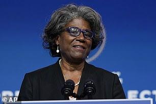Linda Thomas-Greenfield,U.S. Ambassador to the United Nations