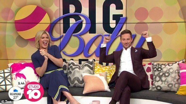 The big news:In November last year, Tahyna joined Tristan to discuss her pregnancy on the morning show. While she was doing well, the expectant mum revealed that she has suffered from morning sickness during her first trimester