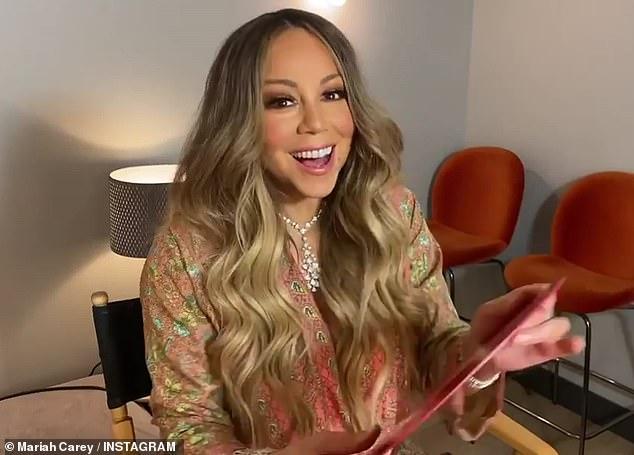 Gran hito: Mariah Carey hizo un viaje nostálgico a lo largo de su carrera el martes, cuando desempacó 16 de sus álbumes en vinilo remasterizado, celebrando el 30 aniversario del lanzamiento de su álbum debut homónimo.