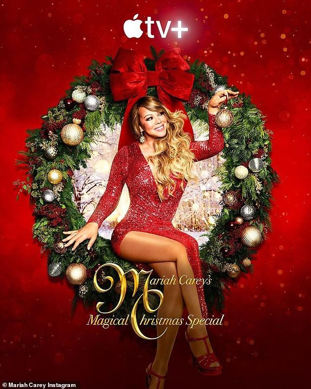 La mejor Navidad de la historia: Carey se unirá a Grande y Hudson para el sencillo principal y el video musical del especial ¡Oh Santa !, que se lanzará el 4 de diciembre en todas las plataformas de transmisión.