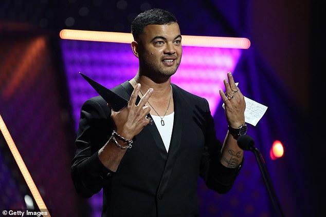 Winner: Guy Sebastian picked up the award for Best Video at the ARIA Awards in Sydney on Wednesday