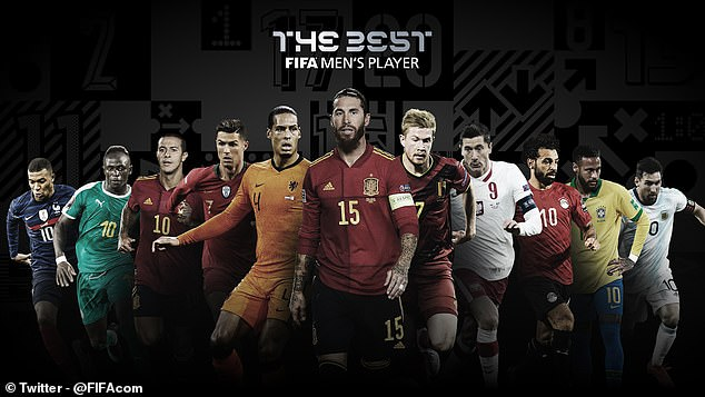 FIFA Ronaldo Lewandowski Messi