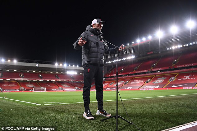 Jurgen Klopp has made no secret of his disdain for the current television scheduling